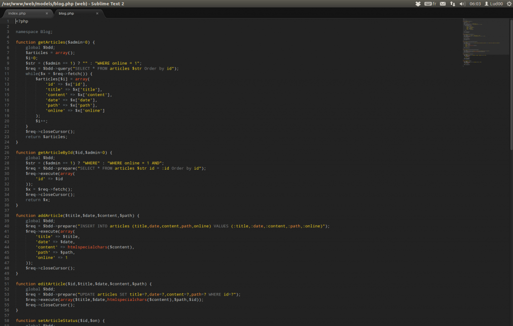 Sublime text 2 - halflife