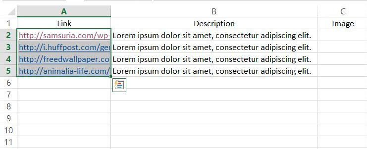 Excel - selection