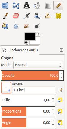 Gimp - Crayon