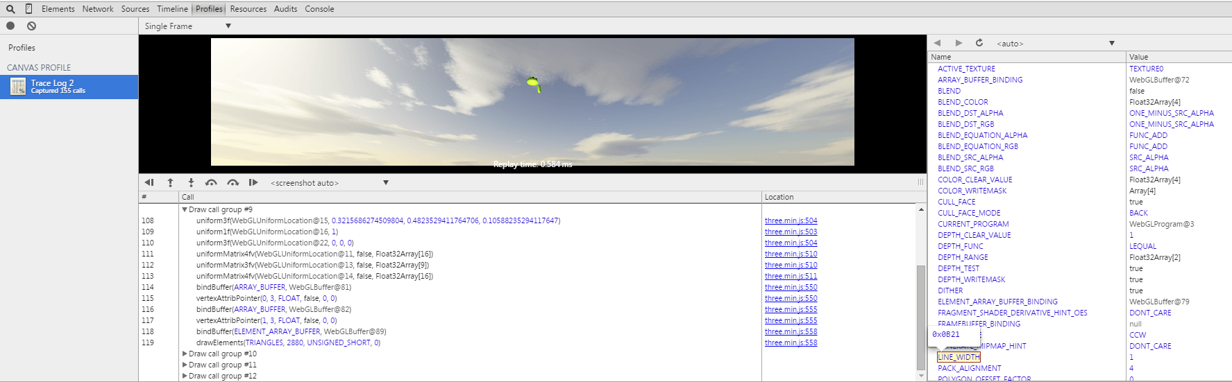 webgl-chrome-resultat