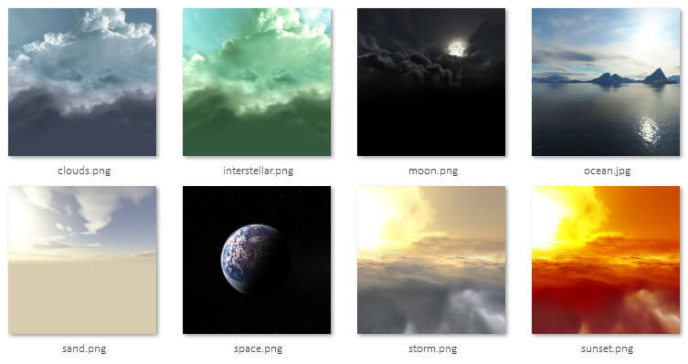 webgl-skybox-resources