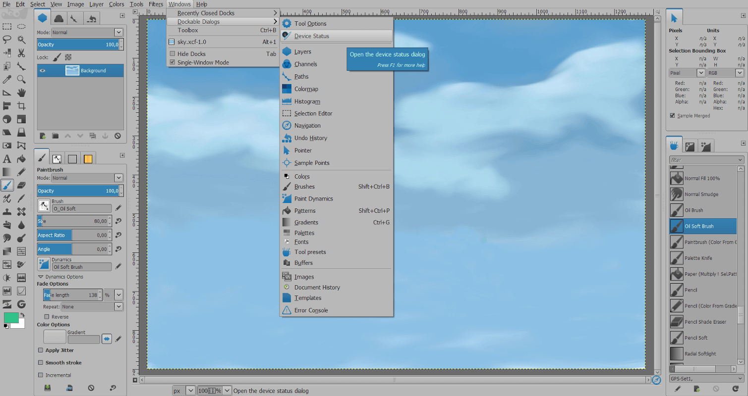 gimp-theme-lightblue