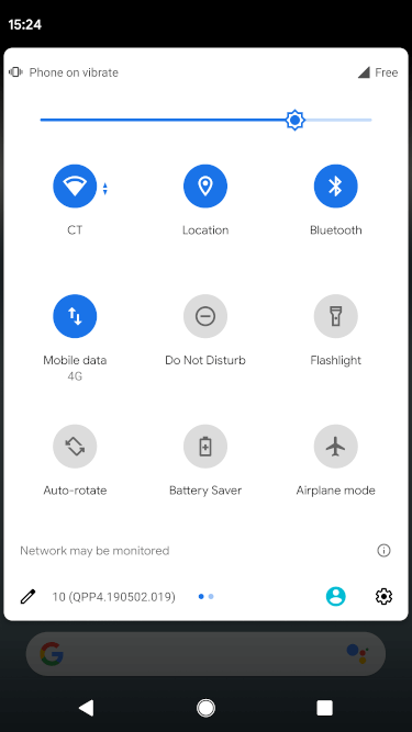 mitmproxy android monitored network